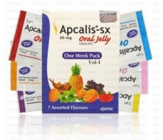 Apcalis SX Oral Jelly 20mg Ajanta Pharma